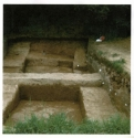 Castle Hill - excavation trench