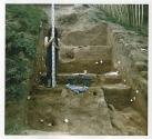 Castle -hill excavation survey and measurement
