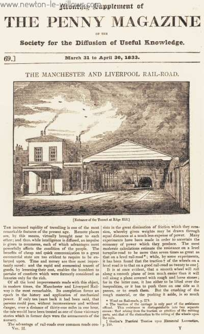 The Manchester and Liverpool Rail-Road