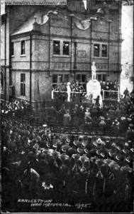 War Memorial Unveiling Ceremony 1905