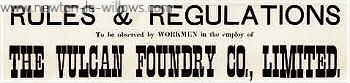 1872 – Vulcan Foundry Rules