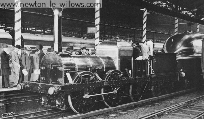 At Euston station for the Century of Progress London & Birmingham Rly centenary exhibition in September 1938.