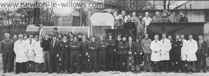 The result of team effort... all the apprentices, graduate trainees, engineers, painters and specialists who restored 'Lion' - the world's oldest original operating locomotive.