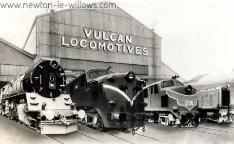 The Vulcan Foundry Ltd, 5th MAY 1954