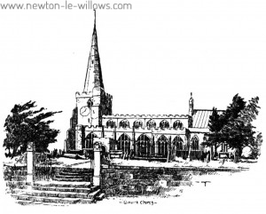 Winwick Church from the South